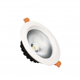 Faretto LED incasso rotondo 10W diametro 118mm COB Potente Fi28-10w